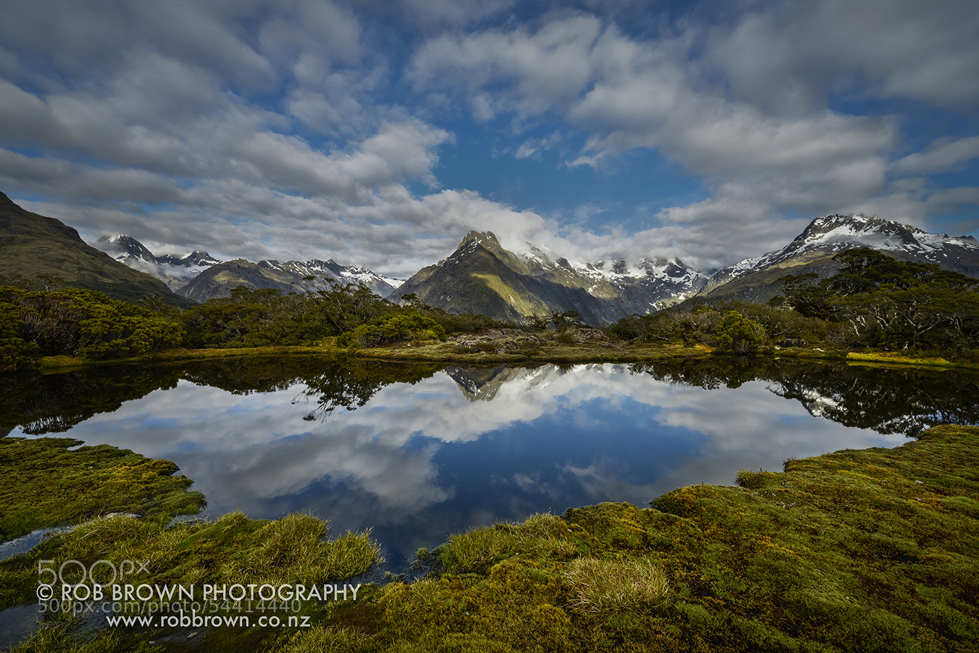 Photograph Key Summit, Fiordland by Rob Brown on 500px