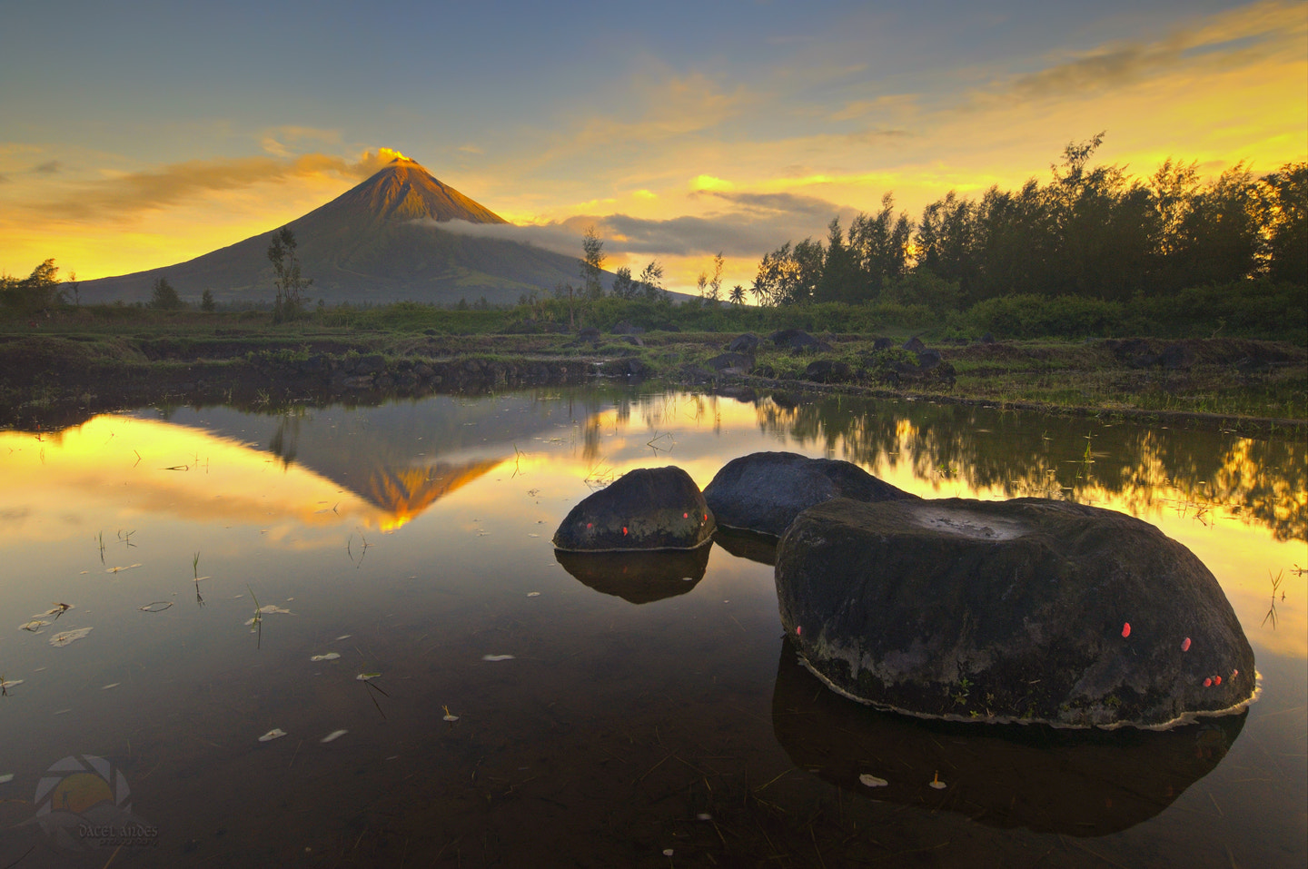 Photograph Fiery Reflection by Dacel Andes on 500px