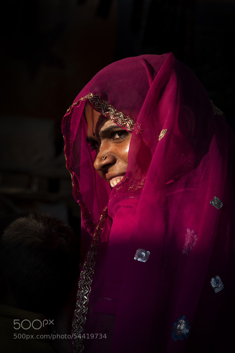 Photograph Veiled smile by Jassi Oberai on 500px