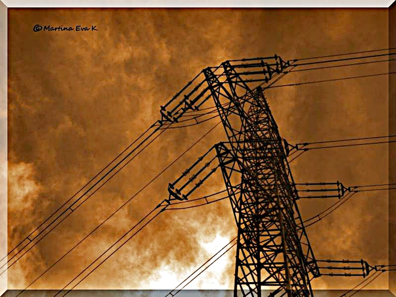 Photograph Electricity by Martina Bauer on 500px