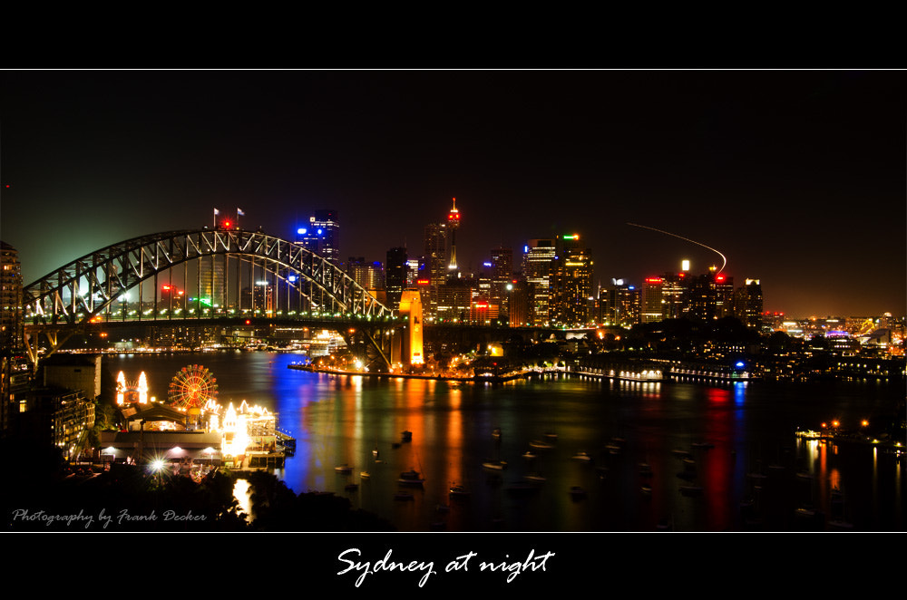 Photograph Sydney at night by Frank Decker on 500px