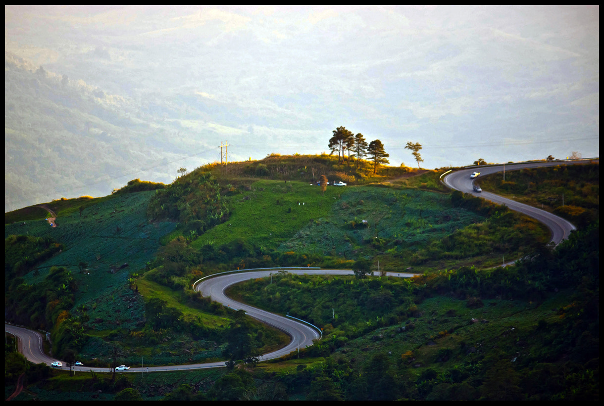 Photograph Road to the hills by Chanapai Limsuwankesorn on 500px