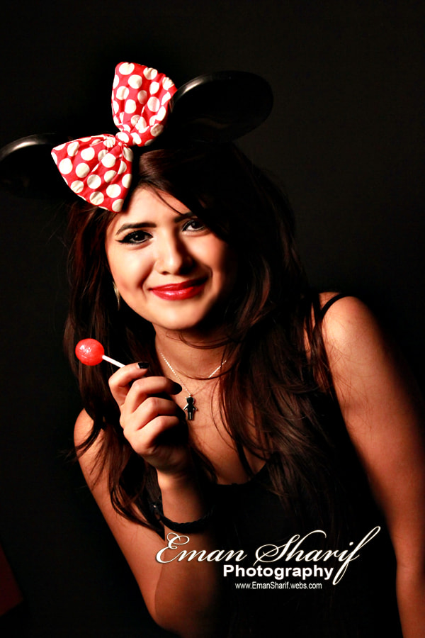 Photograph Minnie Mouse Girl 1 by Eman Sharif on 500px