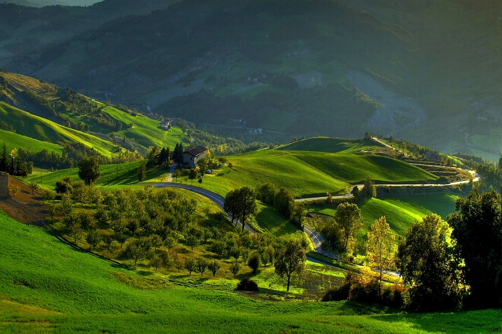 Photograph my green valley - Samone - (guiglia modena italy) - 0101 - DVD 14 by primo masotti on 500px