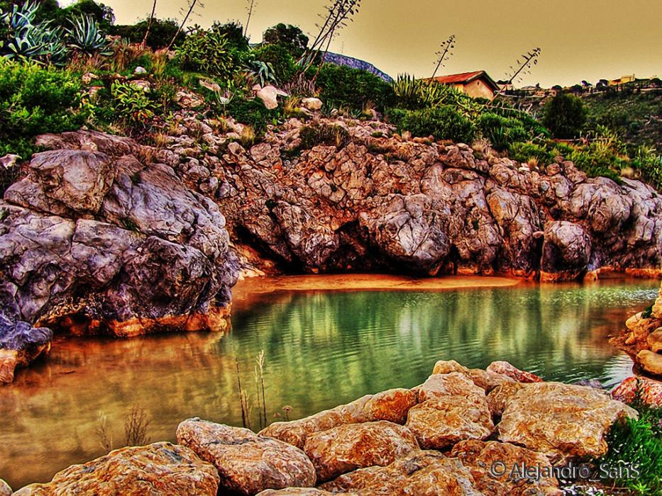 Photograph Rocks and Sea by Alejandro Sans on 500px