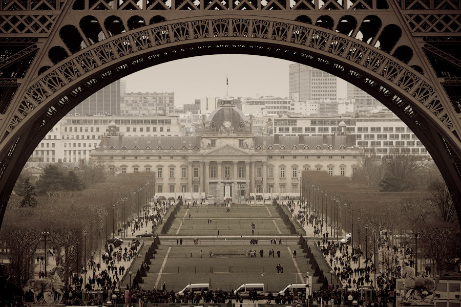 Photograph Champ de Mars by Alexander Dragunov on 500px