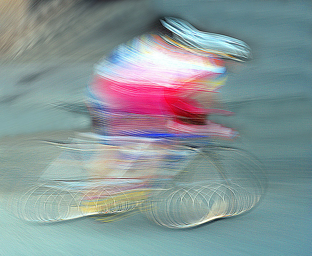 Photograph Alien on a Very Fast Futurism Bicycle by saro di bartolo on 500px