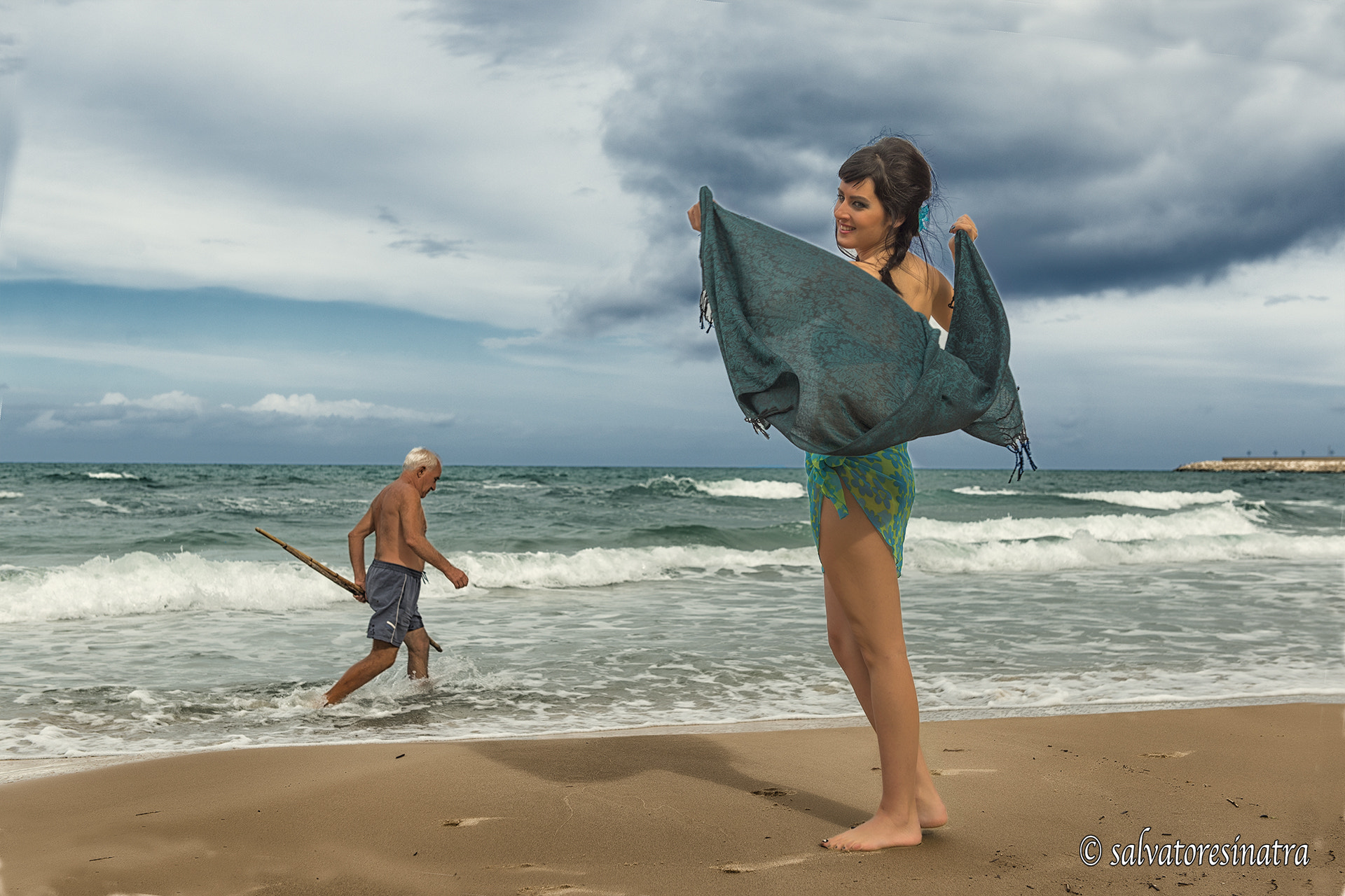 Photograph on the beach by Salvatore Sinatra on 500px