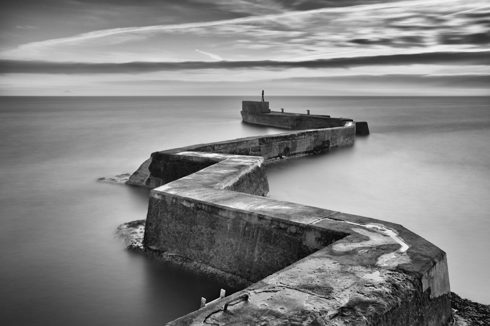 Photograph Zig Zag Jetty by Phil Mack on 500px