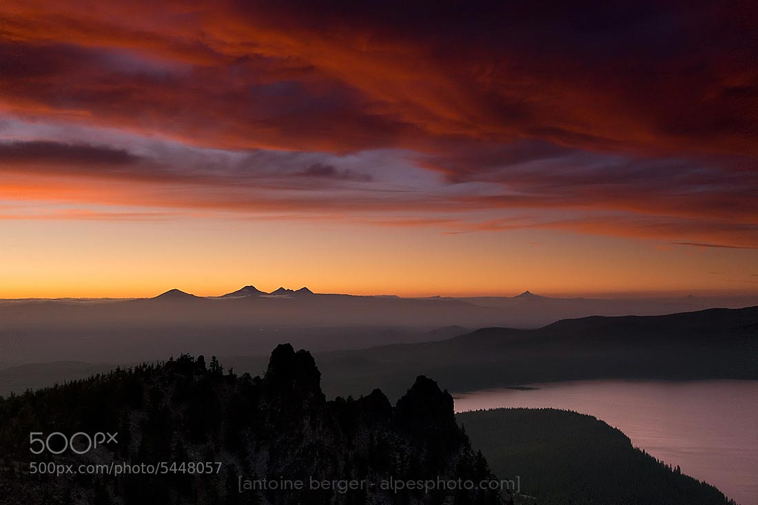 Photograph Paulina Peak by Antoine Berger on 500px