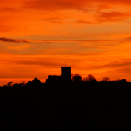 Breedon by Sunset