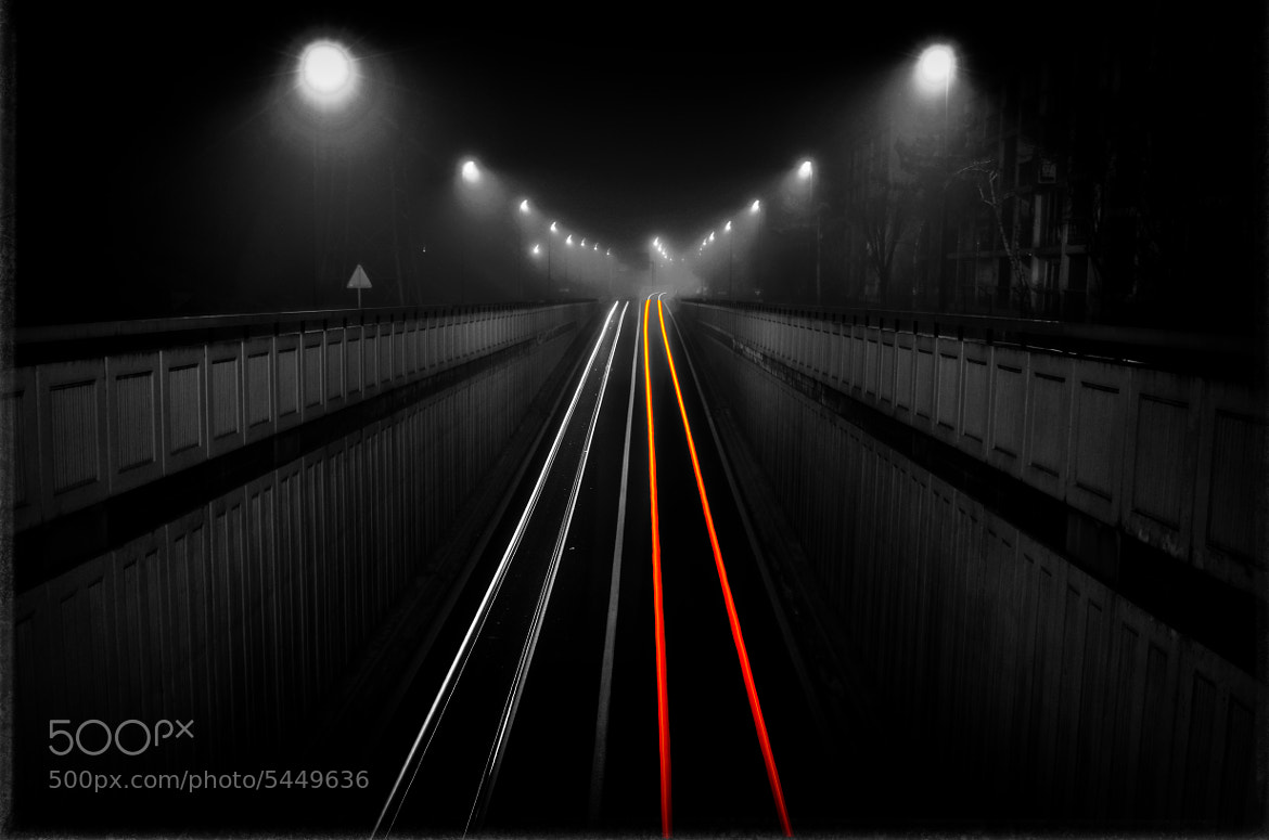 Photograph Foggy bridge by Anthony.D Photography on 500px
