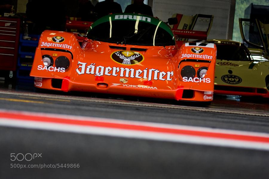 Photograph 'Jägermeister' Porsche 962 by Jurrie  Vanhalle on 500px
