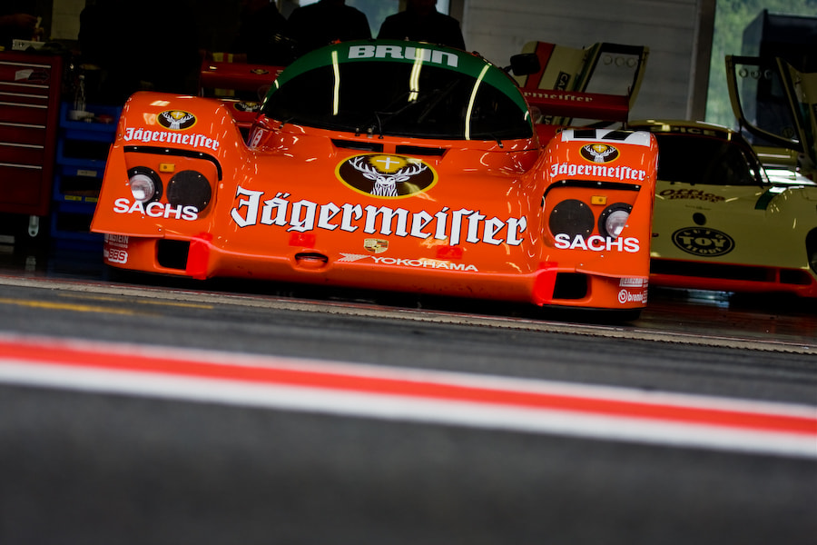 Photograph 'Jägermeister' Porsche 962 by Jurrie  Vanhalle on 500px