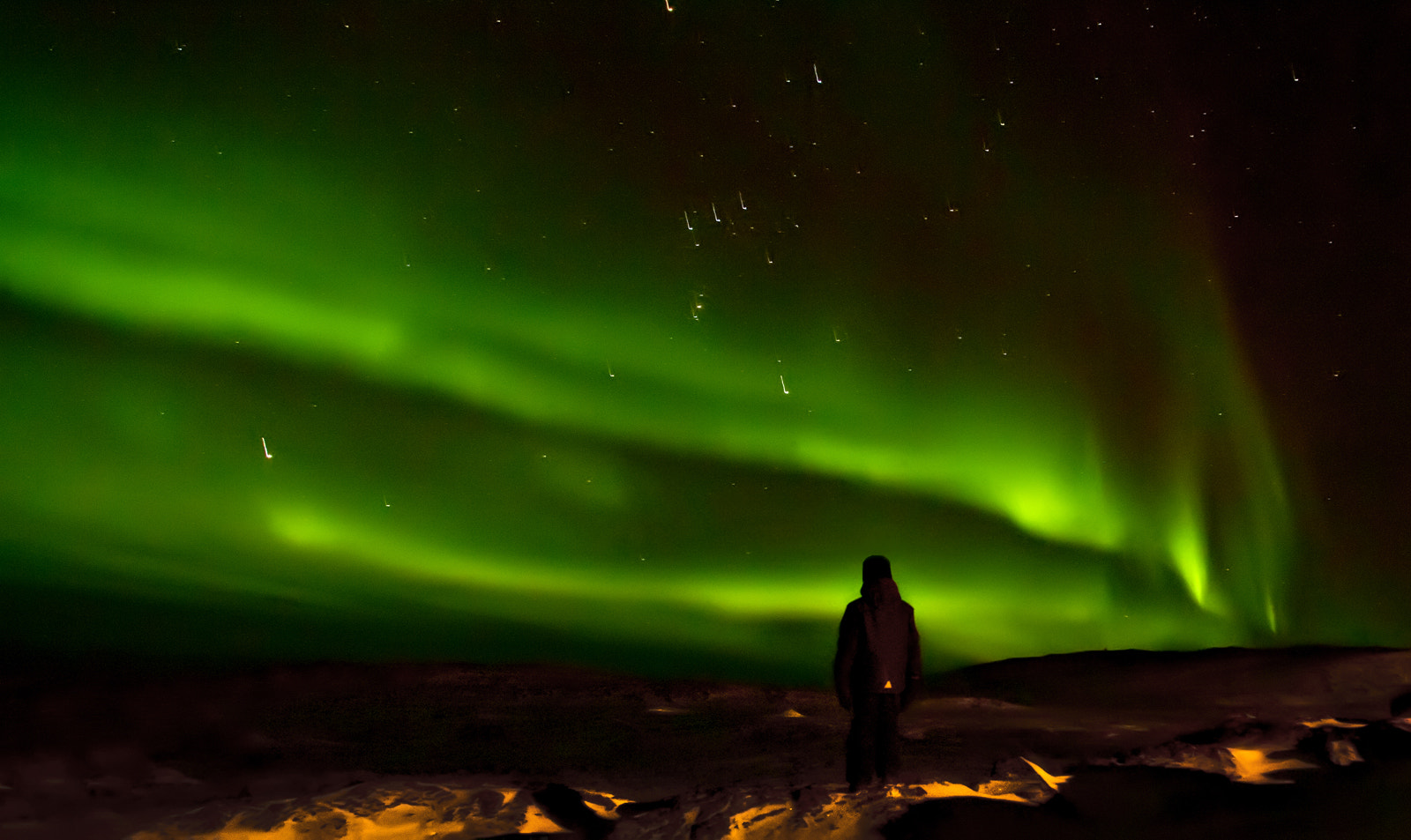 Photograph Northern Lights Over Iqaluit by Michelle Valberg on 500px
