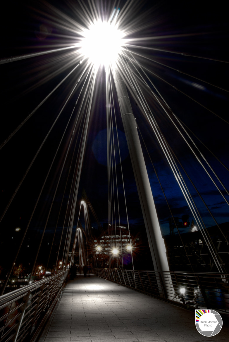 Photograph Charing cross lens flare by James Murray on 500px