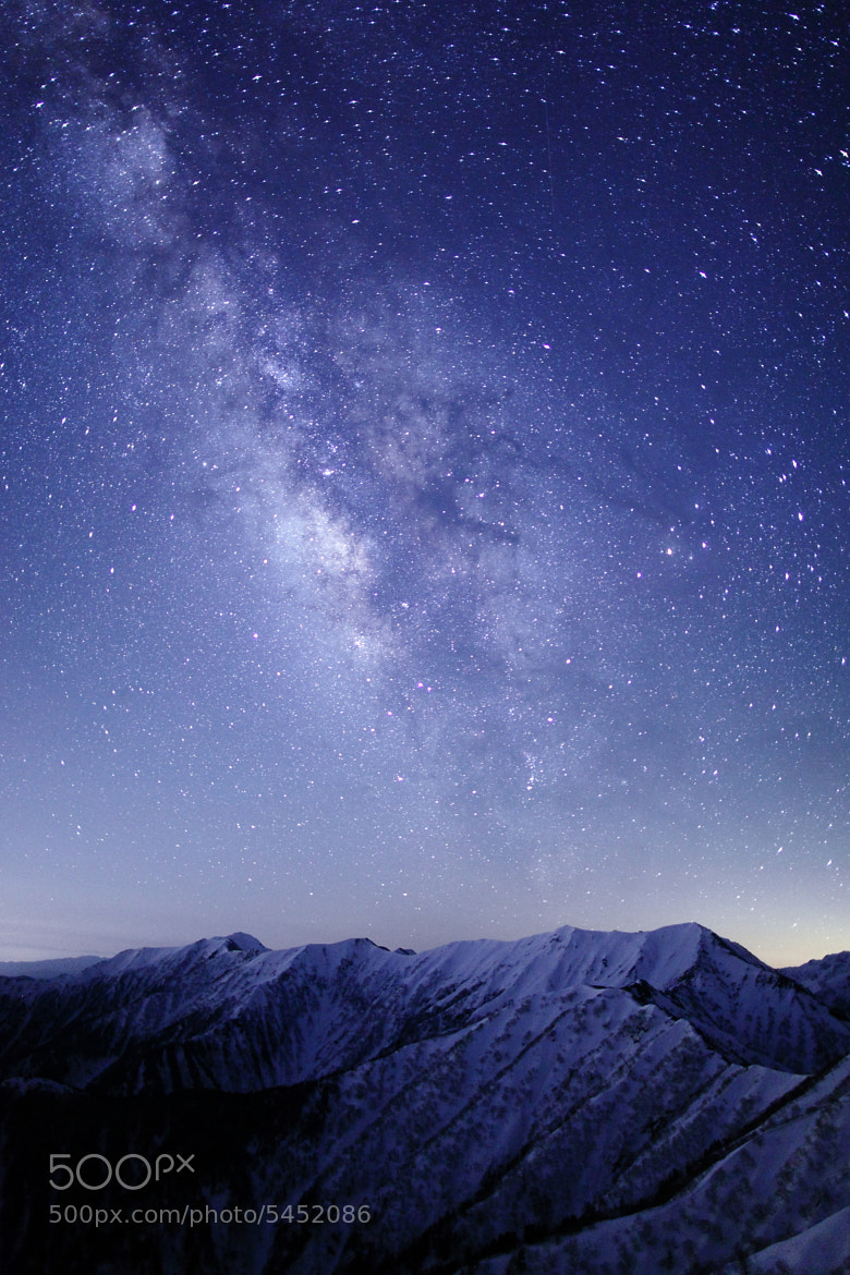 Photograph Mt. Daitenjodake & The Milky Way  by Noriko Tabuchi on 500px