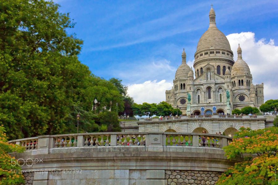 Basilica of the Sacred Heart of Paris by Aleksey Serdyuk (AlekseySerdyuk) on 500px.com