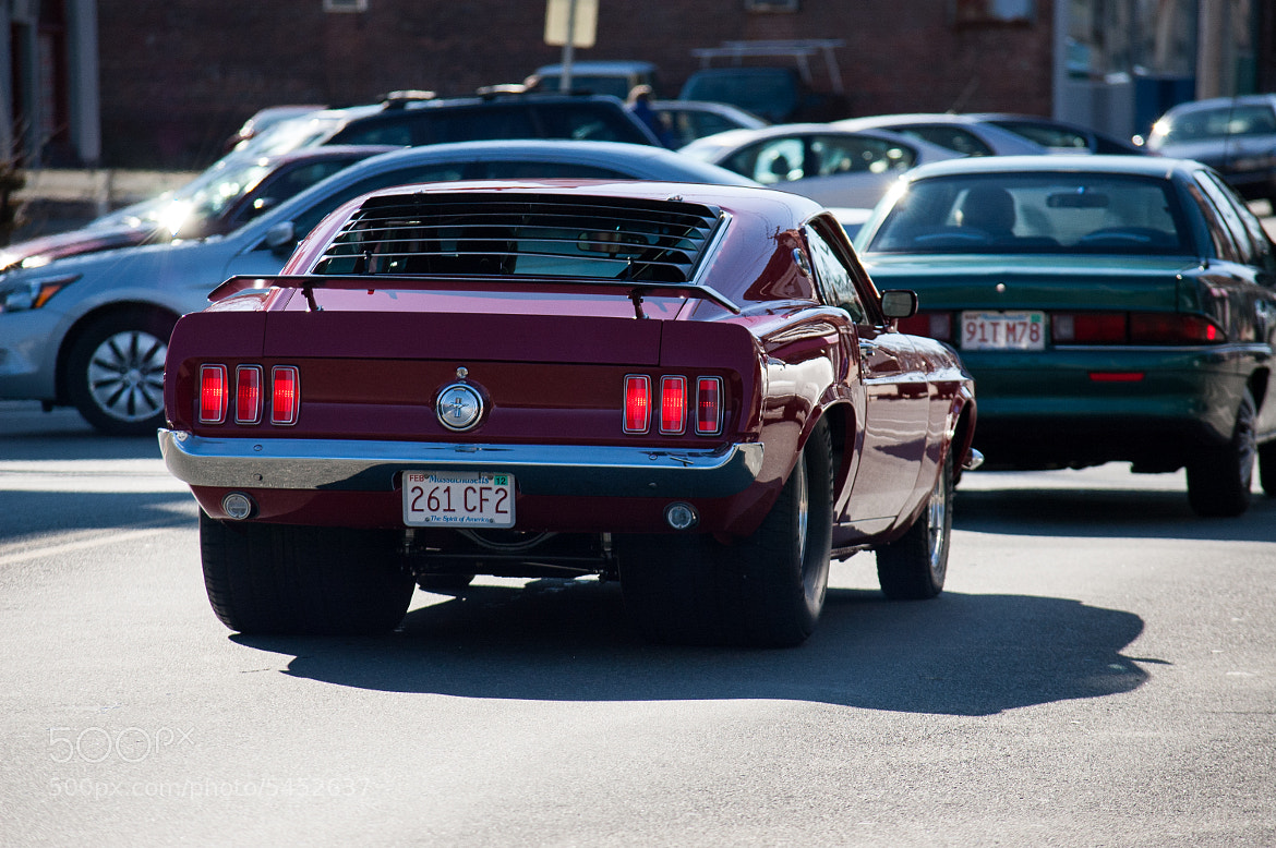 Photograph Ford Mustang Pro-street by Dave Nutting on 500px