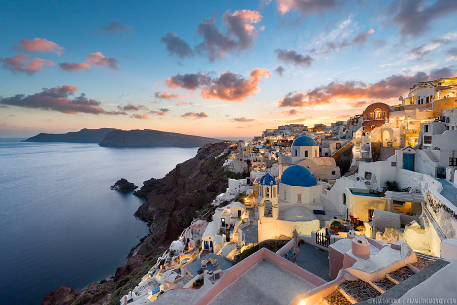 Sunset Dreams | Oia Santorini by Elia Locardi on 500px