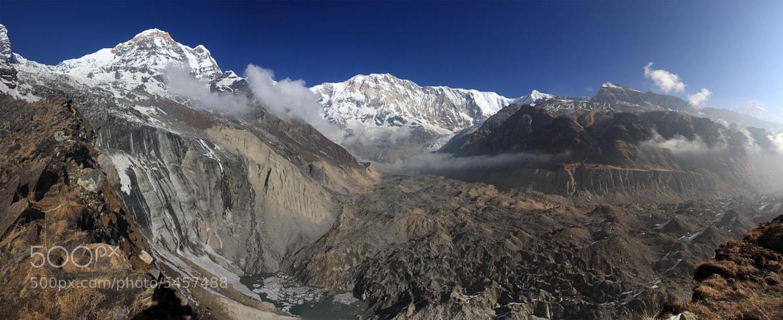 Photograph The Annapurna Sanctuary by Jørgen Mikkelsen on 500px