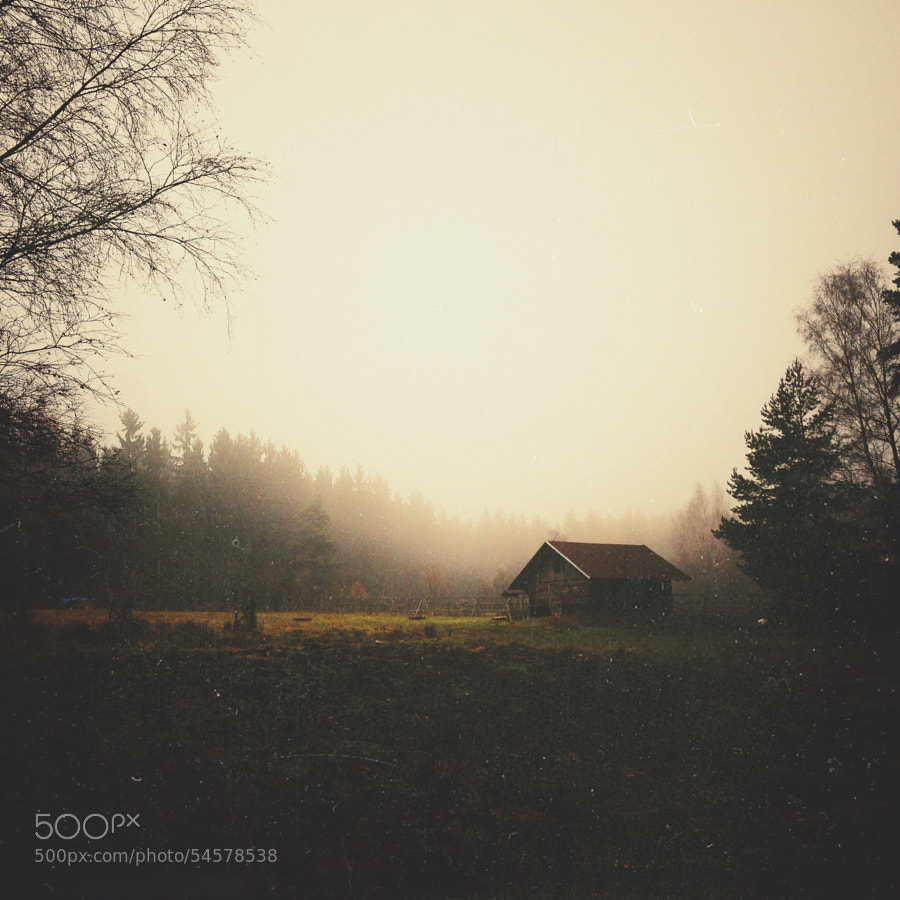 Photograph Lonely cottage by Hynek Hampl on 500px