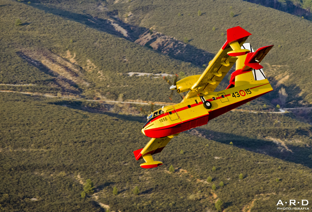 Photograph Canadair CL-215 T by Alberto Rodríguez on 500px