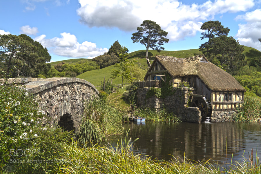 Photograph Hobbiton Mill by Jan Plzak on 500px