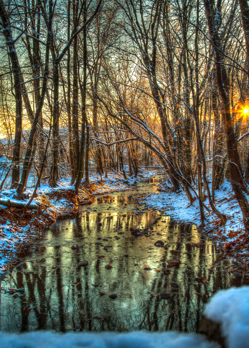 Photograph Winter Creek by Bopbie Huber on 500px
