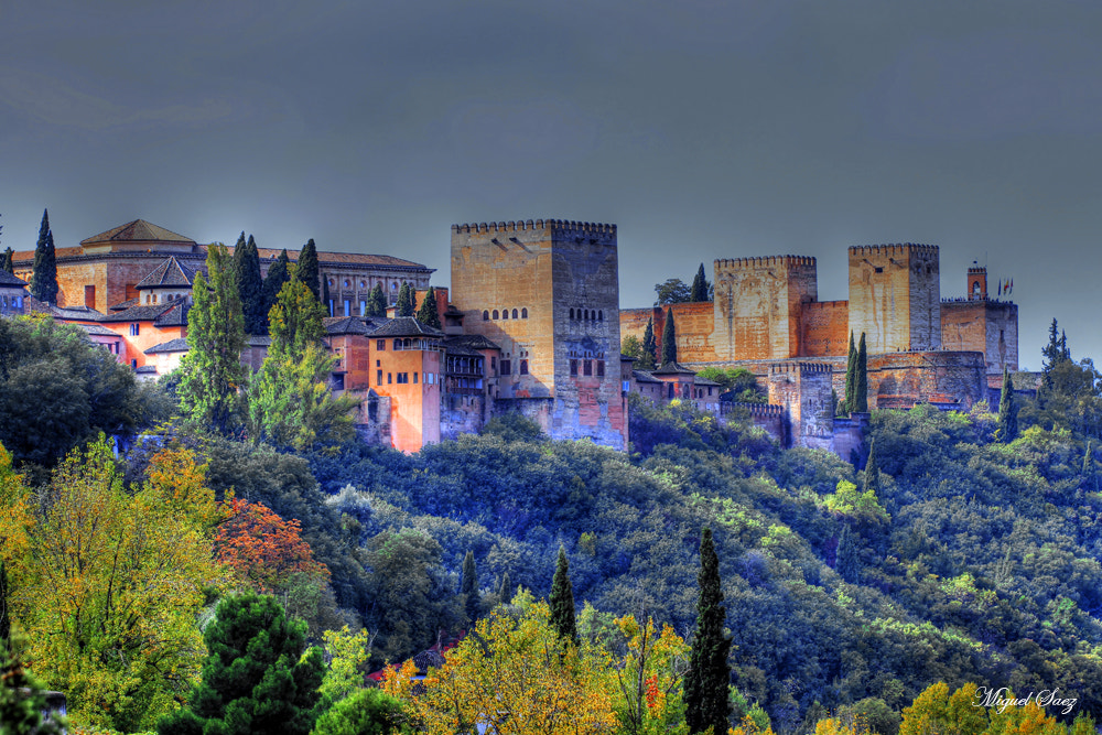 Photograph Alhambra.HDR by Miguel Saez on 500px