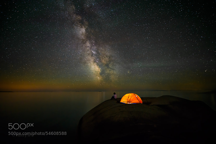 Photograph Stargazing by Henry Liu on 500px