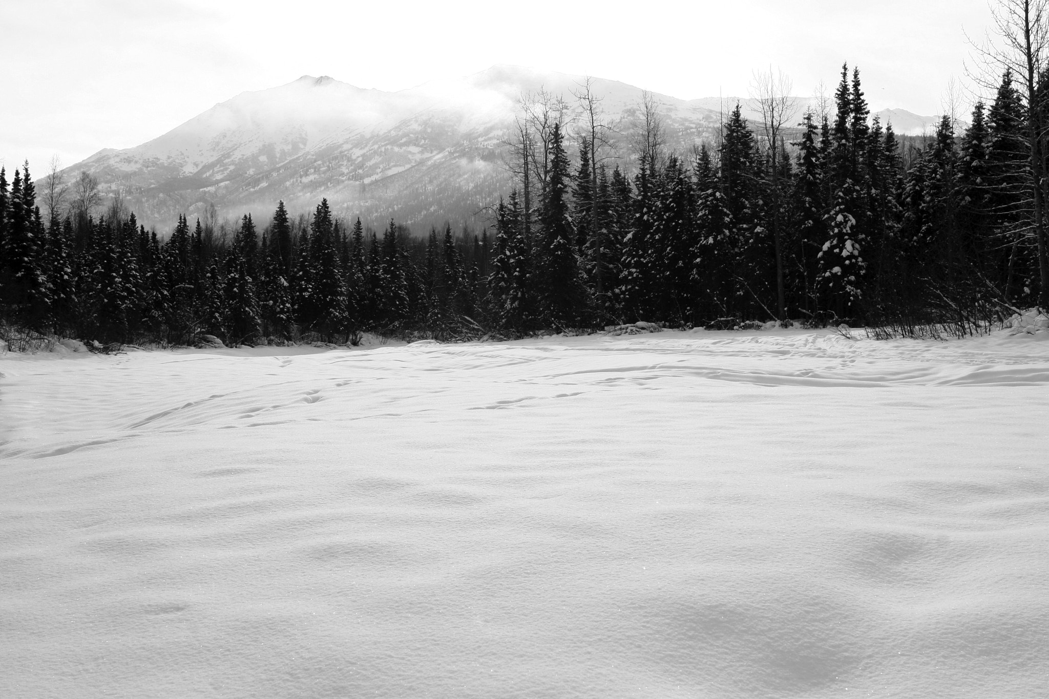 Photograph Eagle River Snow cover by Jon Deisher on 500px