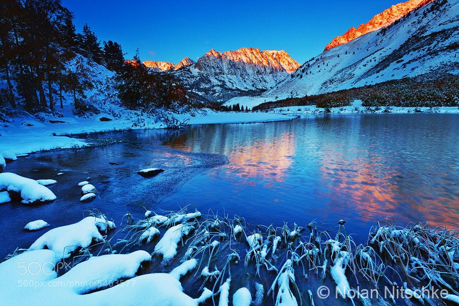Photograph North Lake Snow by Nolan Nitschke on 500px