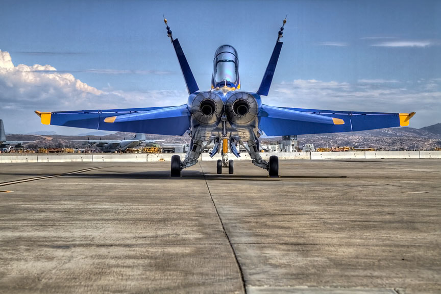 Photograph Blue Angels by Brian Frank Snapshots and HDR on 500px