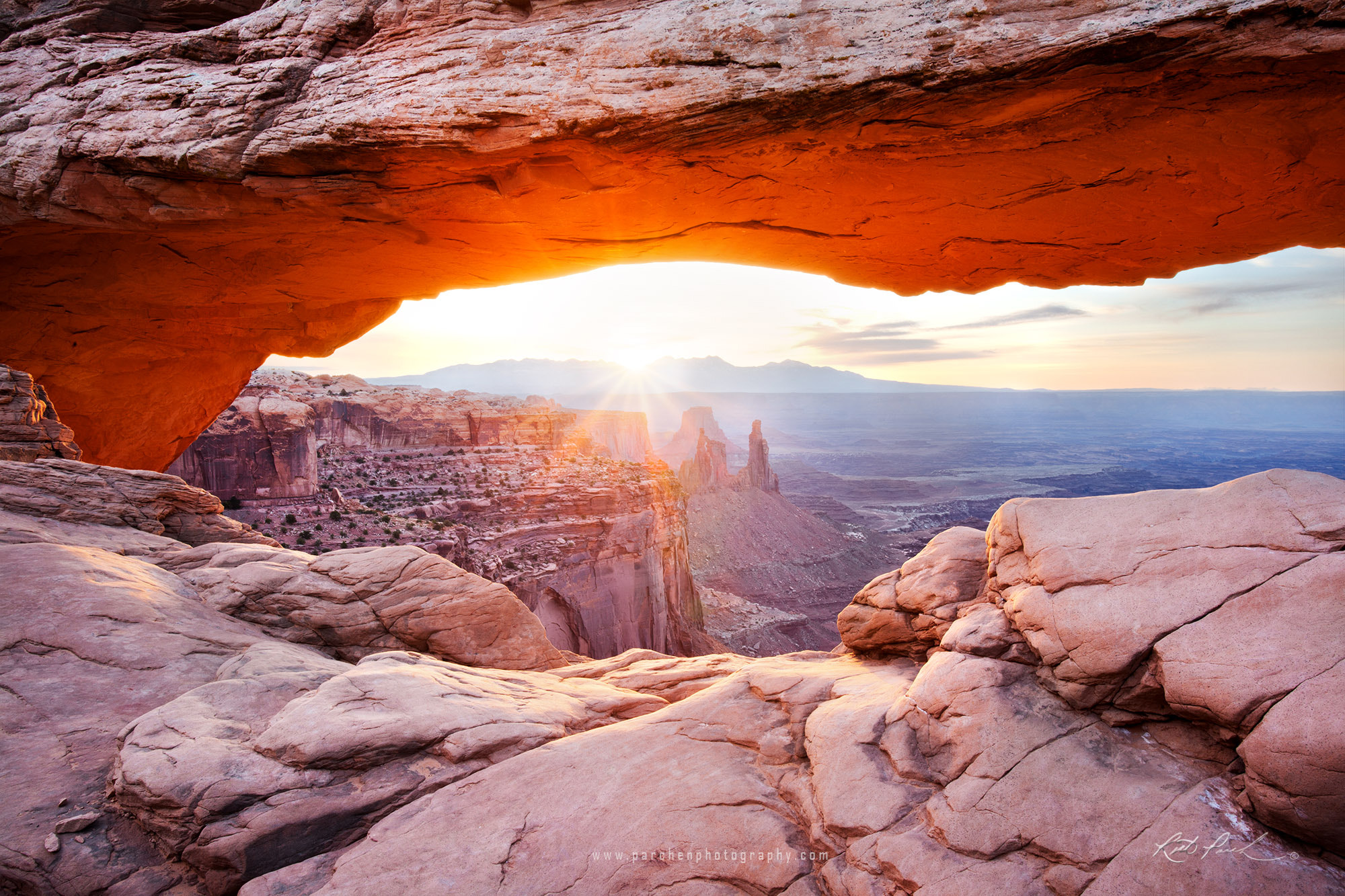 Photograph Mesa Arch Sunrise by Rick Parchen on 500px
