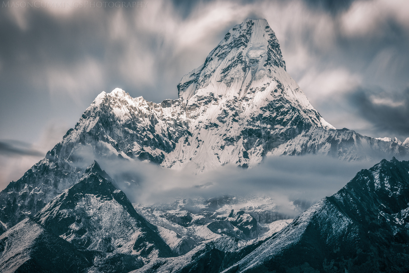 Photograph 84 Seconds Over Ama Dablam by Mason Cummings on 500px