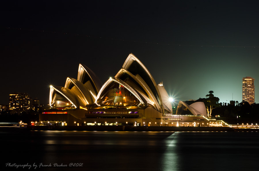 Photograph The Opera by Frank Decker on 500px