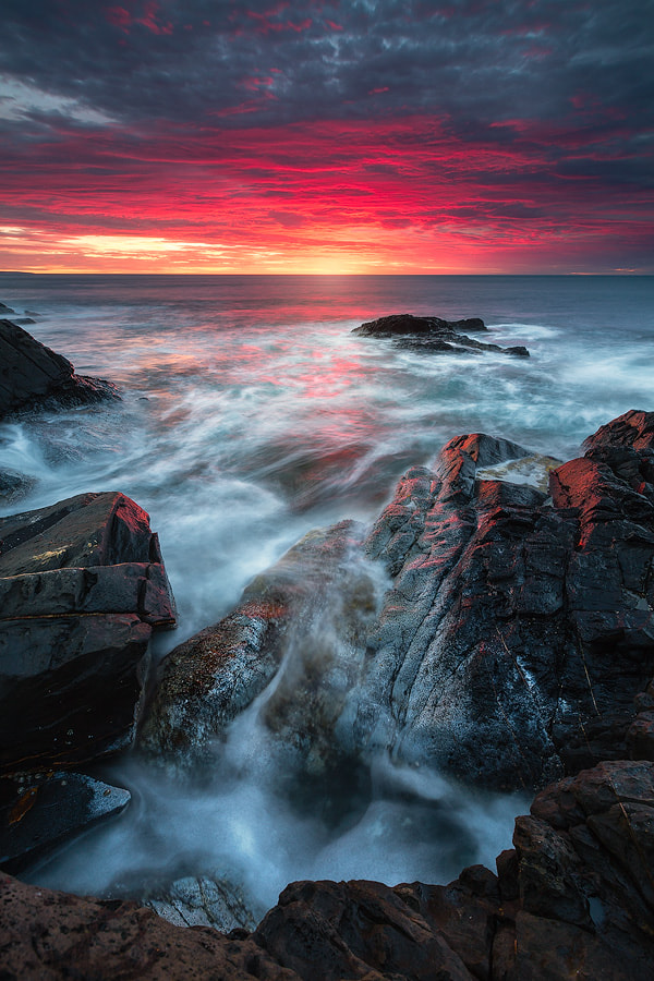 Photograph Crimson Cove by Dylan Gehlken on 500px
