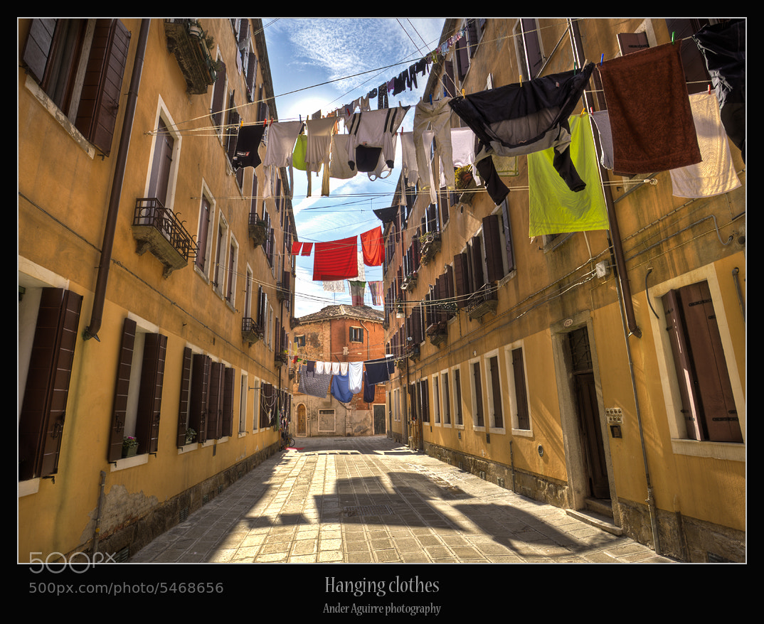Photograph Hanging clothes by Ander Aguirre on 500px