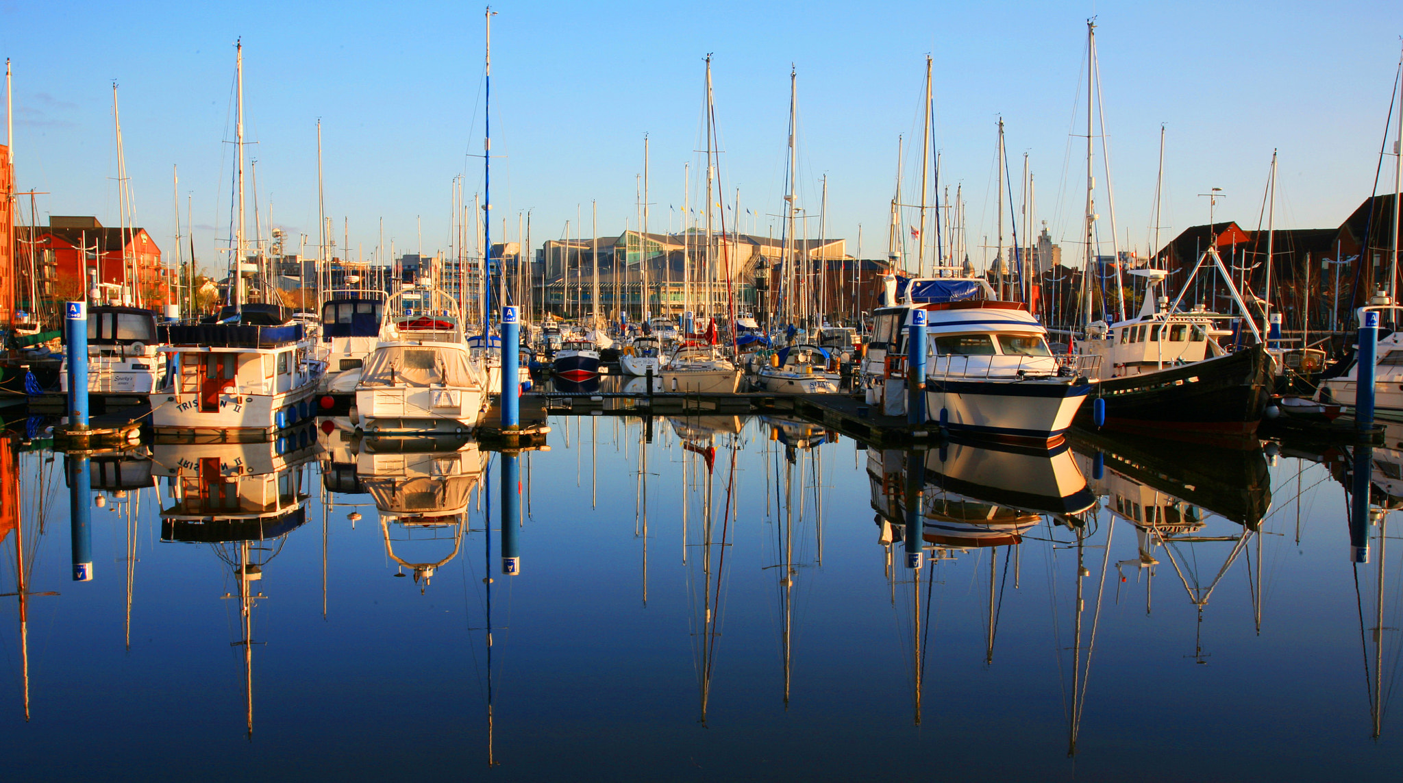 Photograph Boats in the Marina by Philip Beasley on 500px