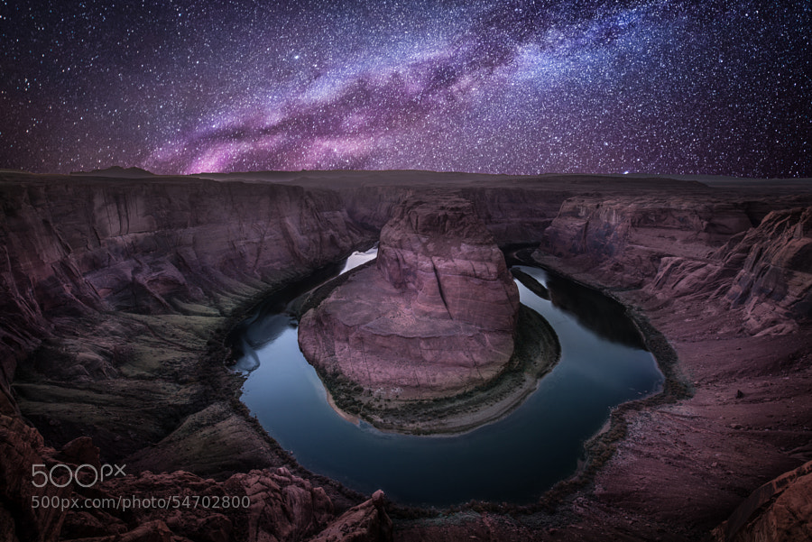 Horseshoe bend by Ali Erturk