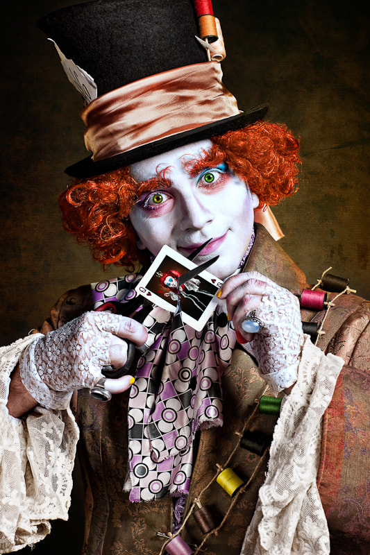 Photograph Mad Hatter by Liviu Mihai on 500px