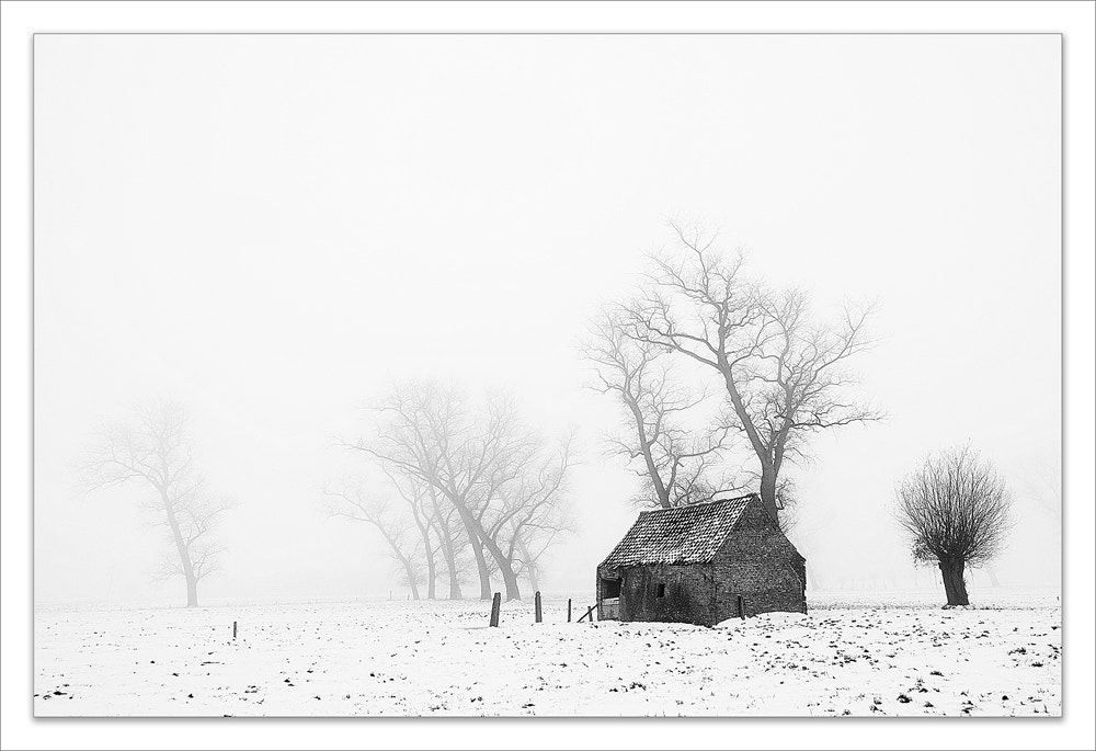Photograph Snow and misty by Pascale schotte on 500px