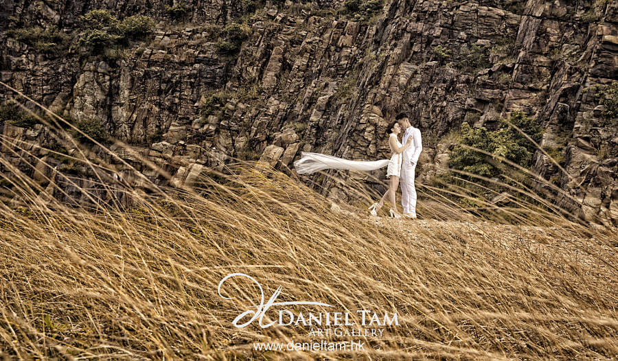Photograph Windy Engagement Shoot by Daniel Tam on 500px