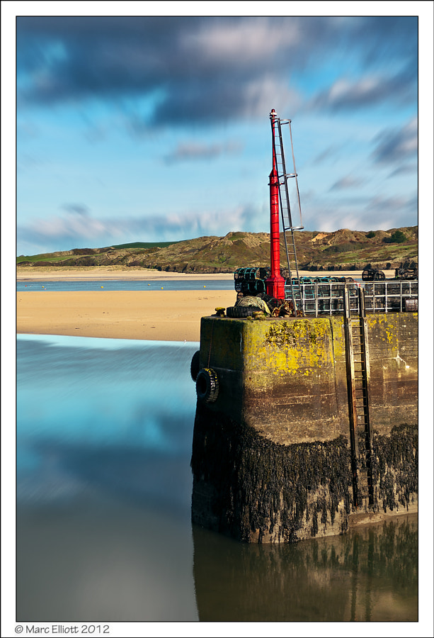 Padstow Harbour looking into The Camel Estuary, and beyond to Rock