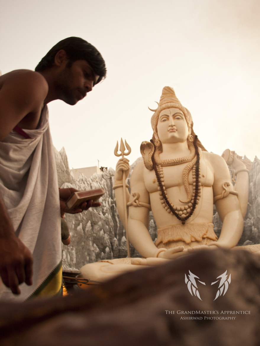 Photograph The Priest And His God by Ashirwad R on 500px