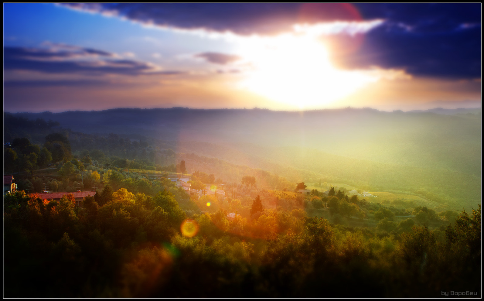 Photograph Sunset in Toscana by Dmitriy Vorobey on 500px