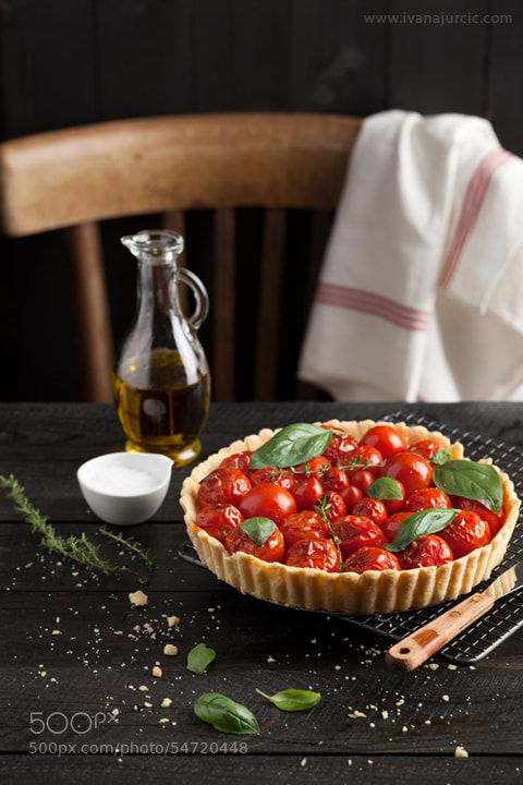 Photograph Cherry Tomato Tart by Ivana Jurcic on 500px