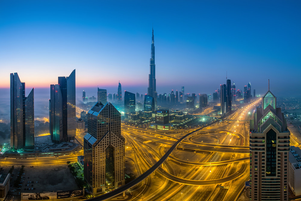 Photograph Veins of Dubai by WK Cheoh on 500px