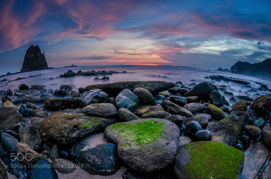 Photograph Papuma Beach Sunset by Rivan Indra on 500px